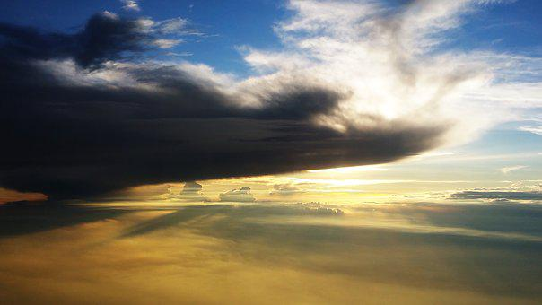 Blue, Cloud, Cloud Formation, Cloudiness, Clouds