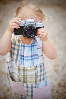 Camera, Country, Film, Fun, Kid, Little Girl, Minolta