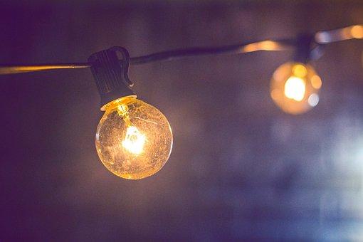 Blur, Light Bulb, Bright, Bulb, Close-up, Dark