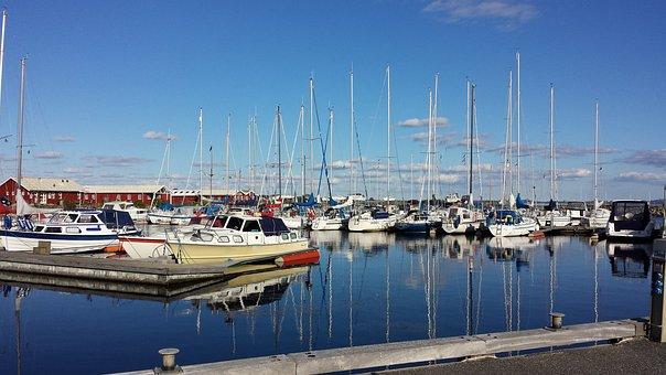 Sailboat, Port, Gjøl