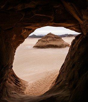 Desert, Sand, Dunes, Sinai, Hot