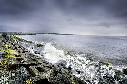 Kerala, Sea, Shores, Nature, Sea View, Protect, Waves