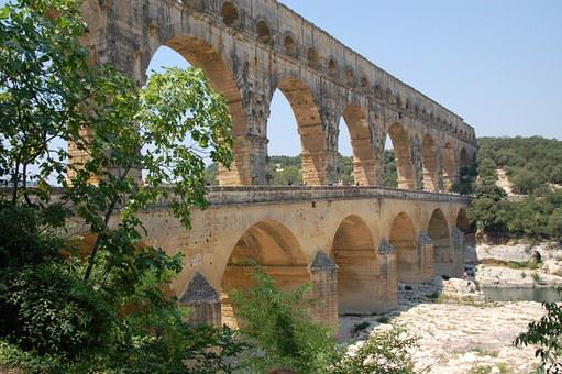 Pont Du Gard, Summer, Holiday, France