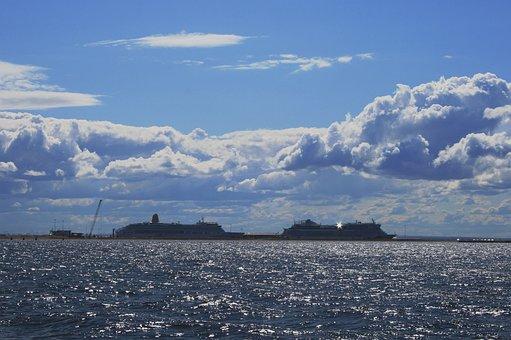 Sea, Ocean, Gulf Of Finland, Luxury Yachts