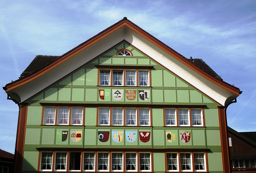 Building, Appenzell House, Typical, Kath Fellows Home