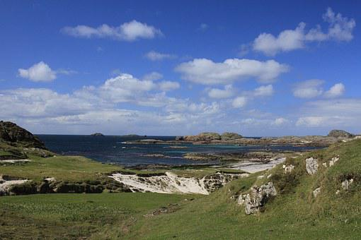 Iona, Bay At The Back Of The Ocean, Scotland