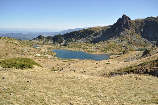 Mountains, Lake, Nature, Bulgaria, Rila