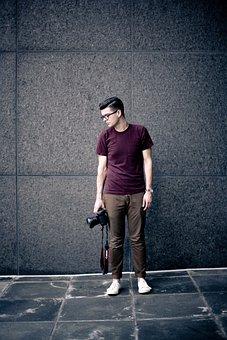 Adult, Business, Camera, Eyeglasses, Fashion