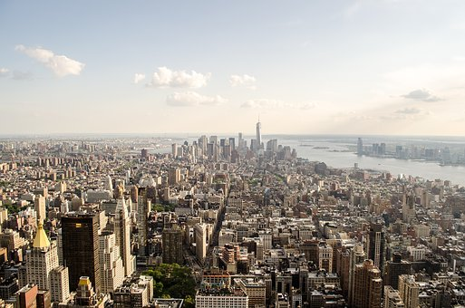 New York, Aerial, Architecture, Buildings, Capital