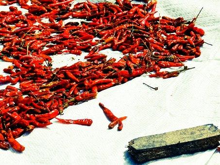 Pepper, Red Pepper, Thailand, Bangkok, Chiangmai, Hot