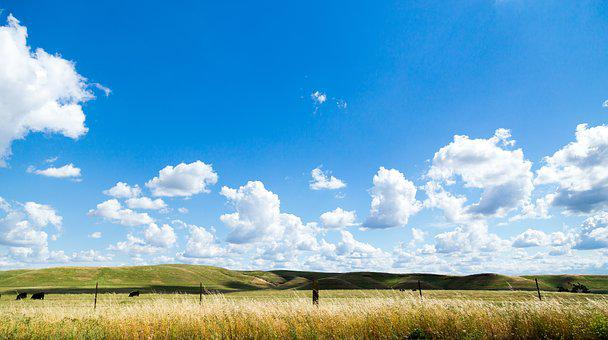 Agriculture, Clouds, Cloudy, Countryside, Cropland