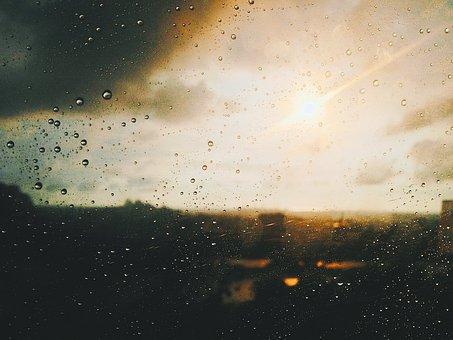 Blur, Clouds, Cloudy, Drop, Droplets, Focus, Glass