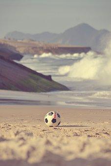 Ball, Beach, Clouds, Coast, Daylight, Fun, Game, Island