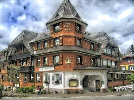 House, Hotel, Black Forest, Germany, Hinterzarten