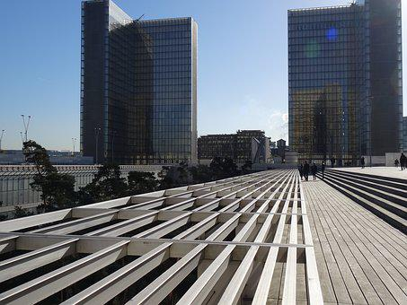Bibliothèque Nationale De France, Paris, Architecture