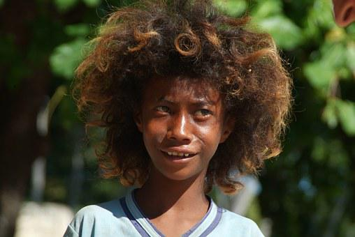 People, Big Hair, Native, Kid, African