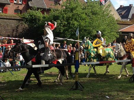 Knight Games, Xanten, Germany, Knights Tournament