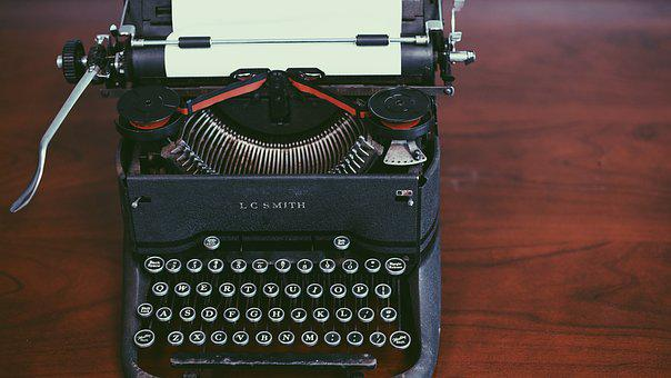 Antique, Classic, Retro, Typewriter, Vintage