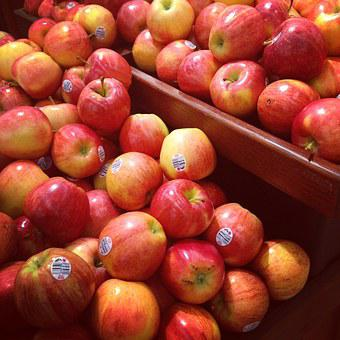 Apples, Fruit, Fresh, Red, Store, Nature, Red Apple