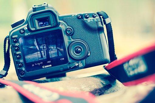 Black, Camera, Canon, Color, Connection, Device