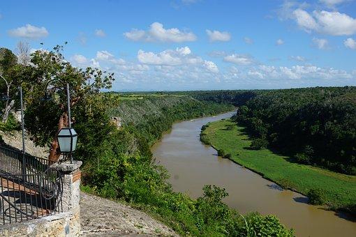 Artists Village, Caribbean, Altos De Chavons, River