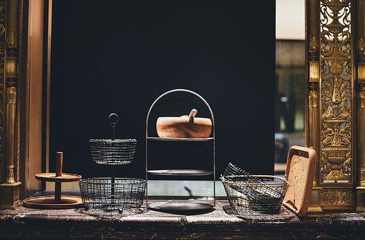 Basket, Food Basket, Fruit Basket, House, Indoors