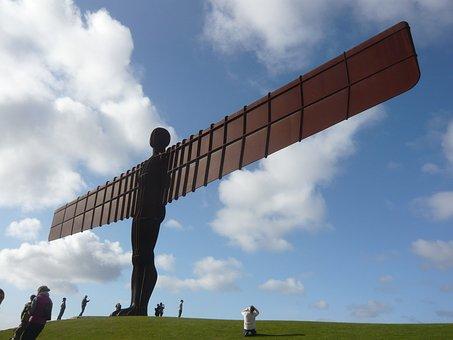 Statue, Angel, Angel Of North, Gateshead