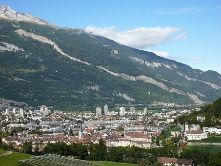 Switzerland, Chur, Capital, Graubünden