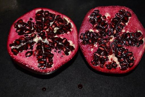 Pomegranate, Red, Fresh, Fruit, Food, Healthy, Sweet
