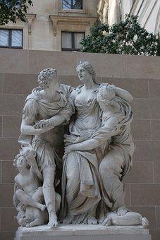 Statue, Antique, Sculpture, Art, Ancient, Old, History