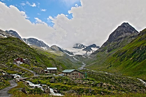 Jamtal Hut, Jamtal, Paznaun, Alpine, Mountains, Dav Hut