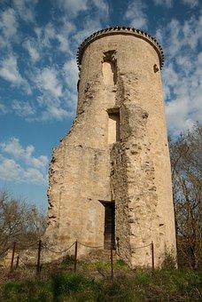 France, Lala, Tower, Castle