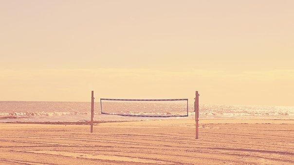 Beach, Daylight, Landscape, Light, Net, Ocean, Outdoors