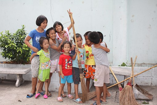 Thailand, Children, Kids, Thai, Asia, People