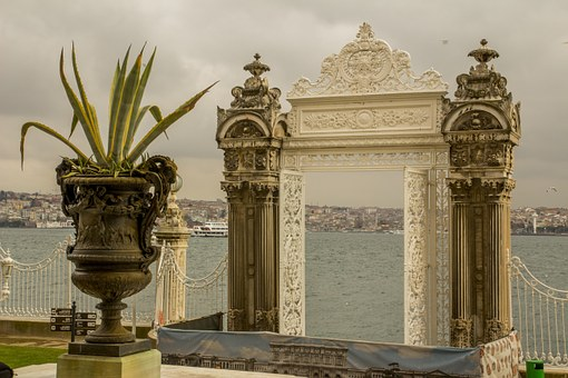 Turkey, Natural Turkey, Marine, Blue, Dolmabahce