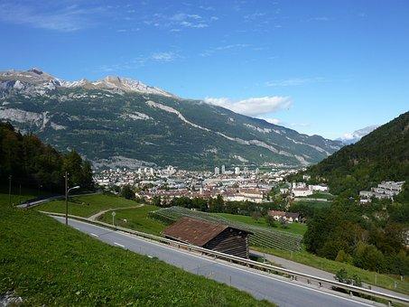 View, Graubünden, Chur, Capital, Horizon