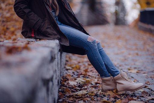 Adult, Blur, Fall, Fashion, Footwear, Girl, Jacket