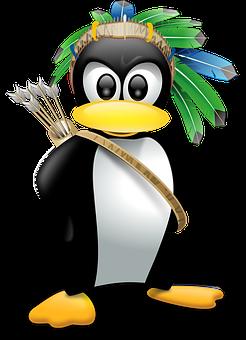 Penguin, Anthropomorphized, Animals, Linux