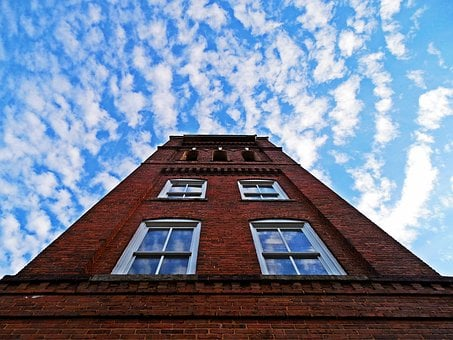Architecture, Bell Tower, Bells, Blue Sky, Brick
