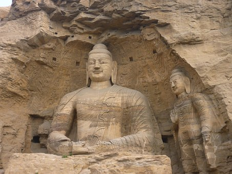 Big Buddha, The Yungang Grottoes, Carving