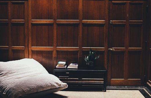 Books, Door, Furniture, Interior Design, Plant, Seat