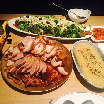 Food, Ham Hocks, Garlic And Ham Hocks, Delicious Food