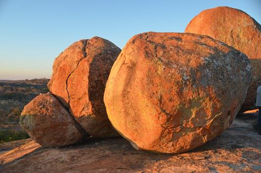 Rock Formations, Nature, Natiohnalpark, Zimbabwe