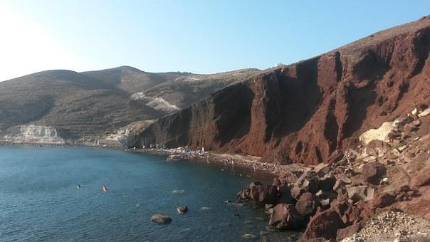 Redbeach, Santorini, Thira