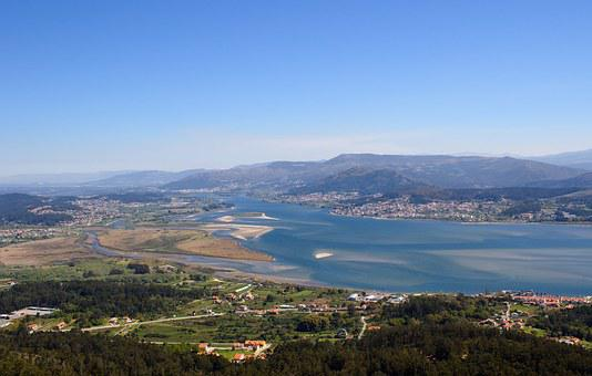 Rio Miño, Camposancos, Pontevedra, Spain, Portugal