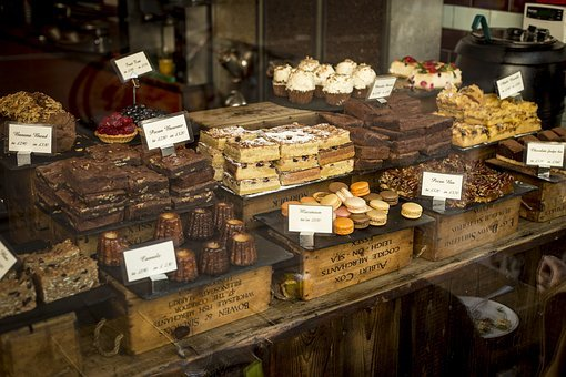 Desserts, Food, Pastries, Shop, Store, Sweets