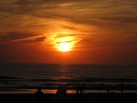 Sun, Doom, Beach, Coast