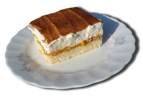 Cream Cake, Sweet Dish, Cream, Calorie Bomb, Kcal