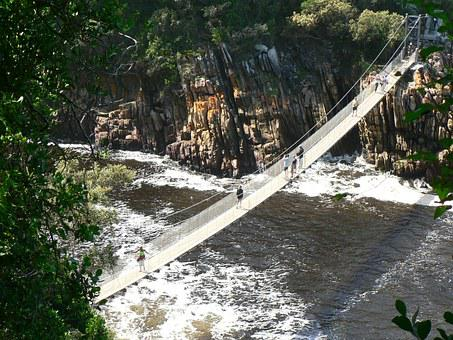 Suspension Bridge, Tsitsikamma, The National Park