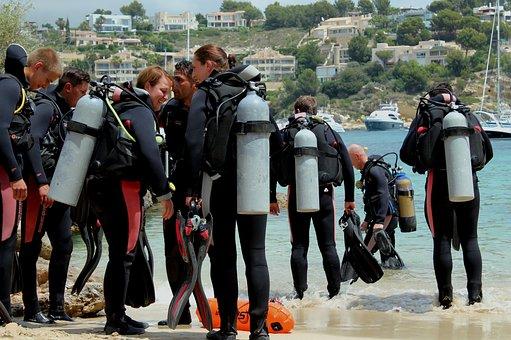 Diving, Diving School, Beach
